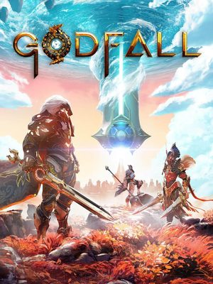 Cover for Godfall.
