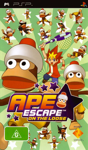 Cover for Ape Escape: On the Loose.