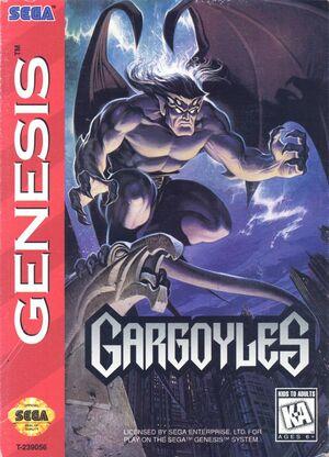 Cover for Gargoyles.