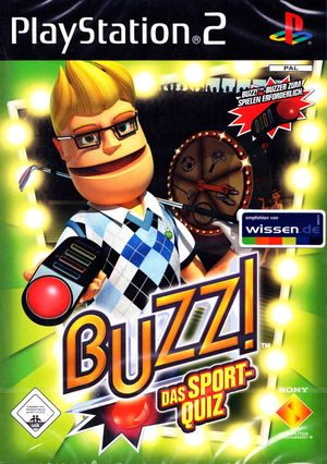 Cover for Buzz!: The Sports Quiz.