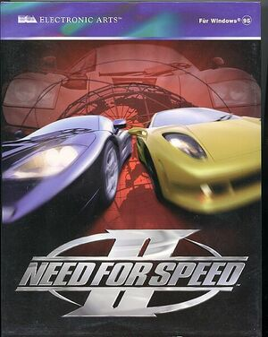 Cover for Need for Speed II.