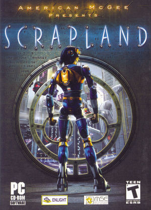 Cover for Scrapland.