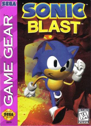 Cover for Sonic Blast.