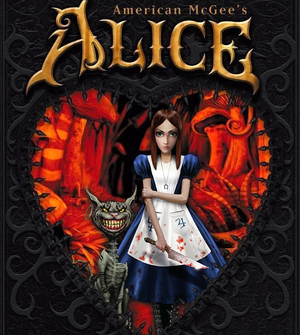Cover for American McGee's Alice.