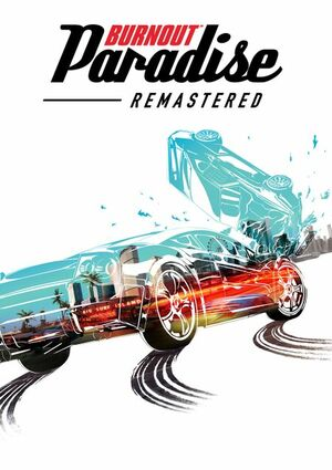 Cover for Burnout Paradise Remastered.