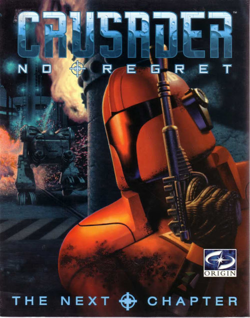 Cover for Crusader: No Regret.