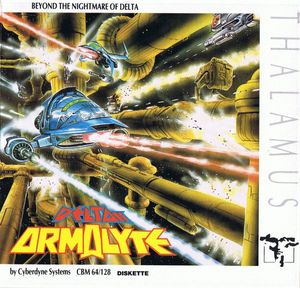 Cover for Armalyte.