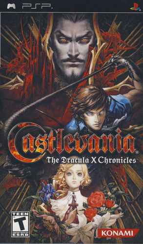 Cover for Castlevania: The Dracula X Chronicles.