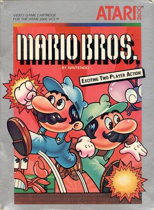 Cover for Mario Bros..