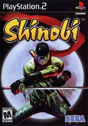 Cover for Shinobi.