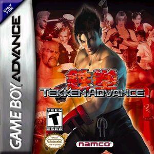 Cover for Tekken Advance.
