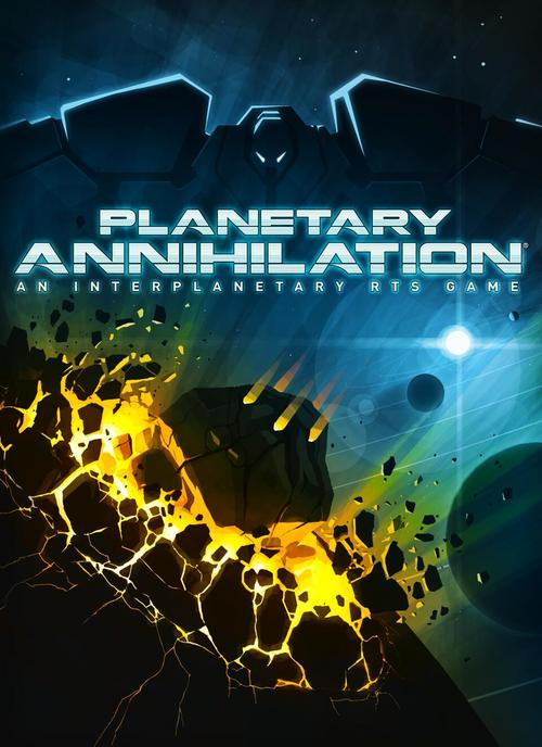 Cover for Planetary Annihilation.