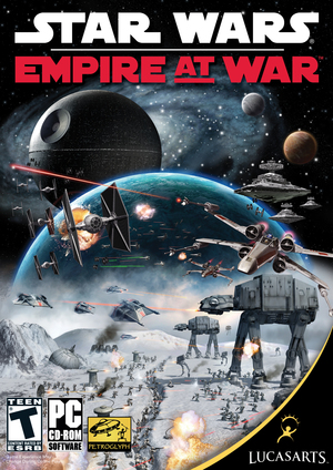 Cover for Star Wars: Empire at War.