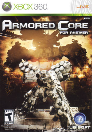 Cover for Armored Core: For Answer.
