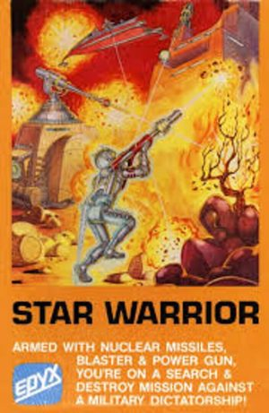 Cover for Star Warrior.