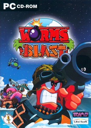 Cover for Worms Blast.