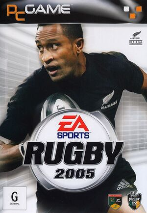Cover for Rugby 2005.