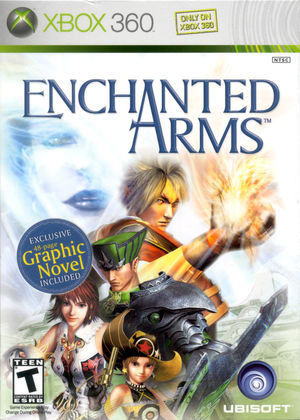 Cover for Enchanted Arms.