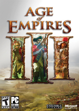 Cover for Age of Empires III.