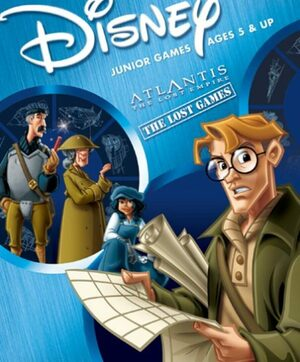 Cover for Disney's Atlantis: The Lost Empire - The Lost Games.