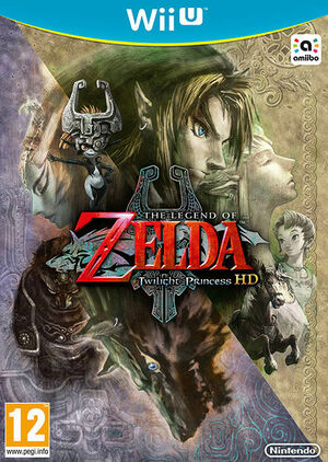 Cover for The Legend of Zelda: Twilight Princess HD.