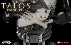 Cover for The Talos Principle.