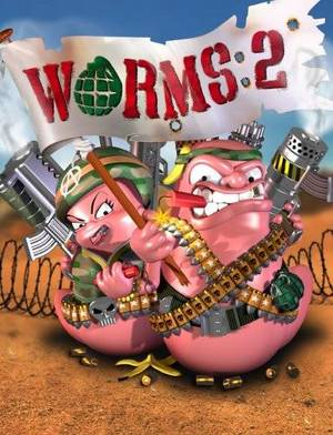Cover for Worms 2.