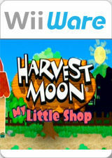 Cover for Harvest Moon: My Little Shop.