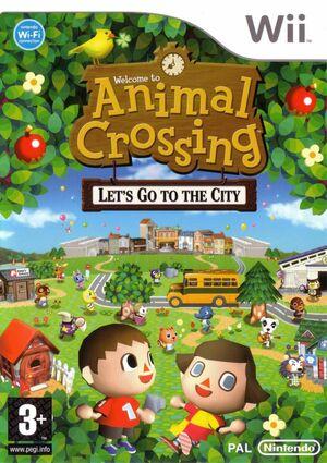 Cover for Animal Crossing: City Folk.