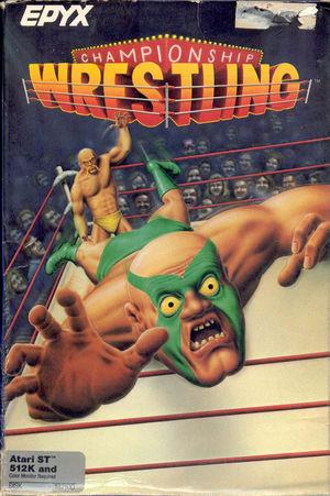 Cover for Championship Wrestling.
