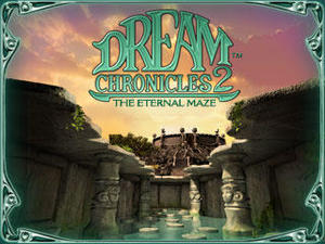 Cover for Dream Chronicles 2: The Eternal Maze.