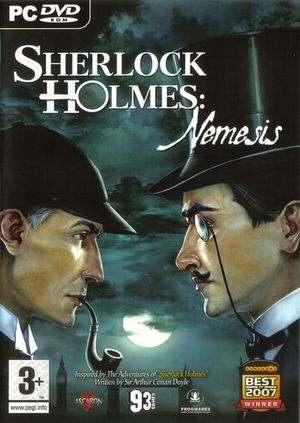 Cover for Sherlock Holmes versus Arsène Lupin.