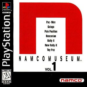 Cover for Namco Museum Vol. 1.