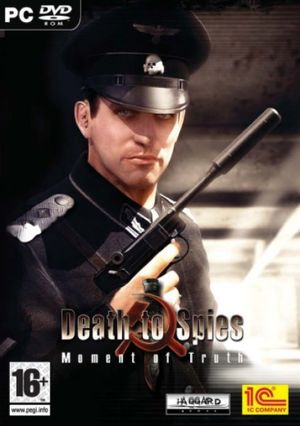 Cover for Death to Spies: Moment of Truth.