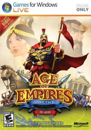 Cover for Age of Empires Online.