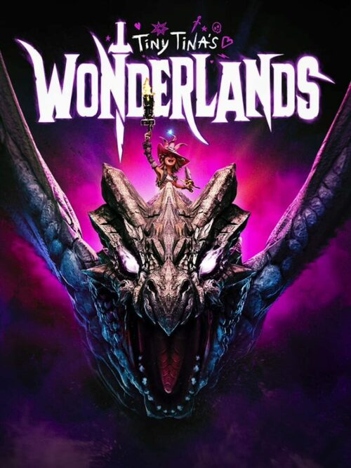 Cover for Tiny Tina's Wonderlands.