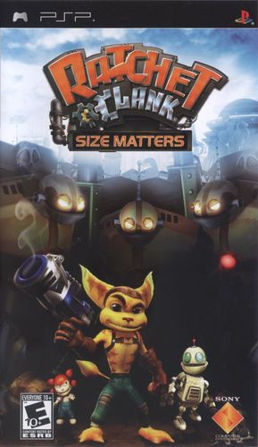 Cover for Ratchet & Clank: Size Matters.