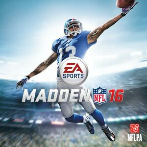 Cover for Madden NFL 16.