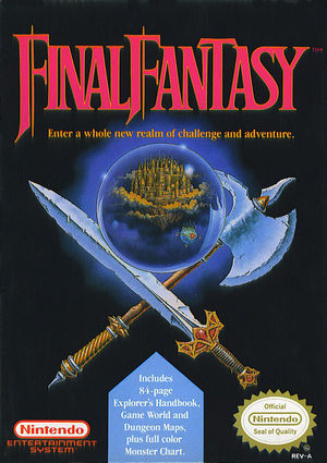 Cover for Final Fantasy.