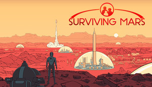 Cover for Surviving Mars.