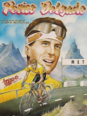 Cover for Perico Delgado Maillot Amarillo.