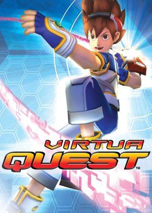 Cover for Virtua Quest.