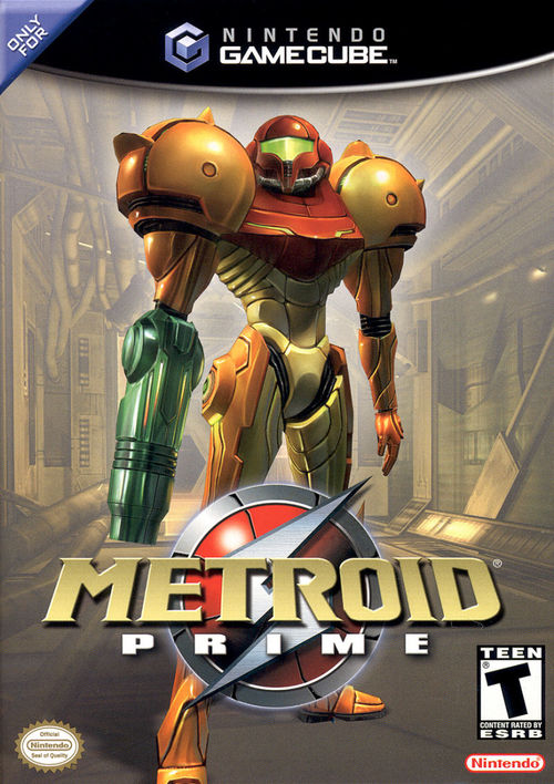 Cover for Metroid Prime.