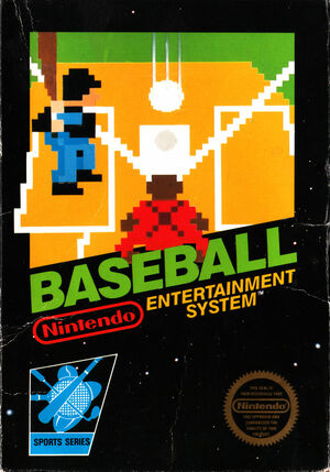 Cover for Baseball.