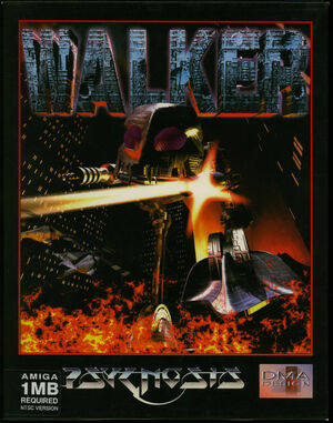 Cover for Walker.