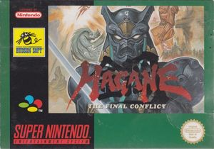 Cover for Hagane: The Final Conflict.