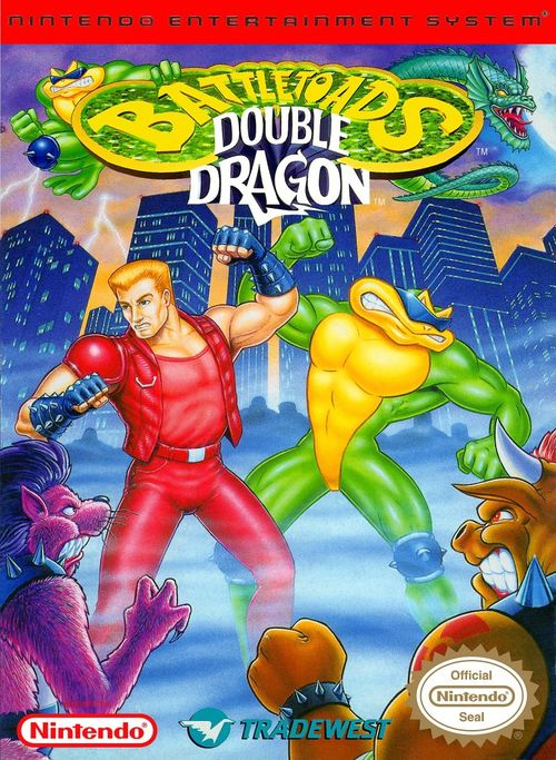 Cover for Battletoads & Double Dragon.
