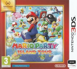 Cover for Mario Party: Island Tour.