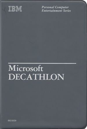 Cover for Olympic Decathlon.