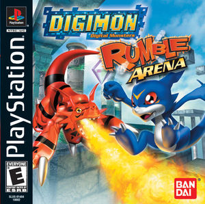 Cover for Digimon Rumble Arena.